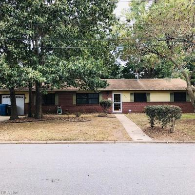 Virginia Beach Residential New Listing: 224 Miami Rd