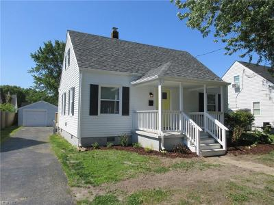 Hampton VA Residential New Listing: $149,900