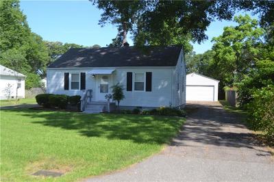 Newport News Residential New Listing: 631 Brooke St