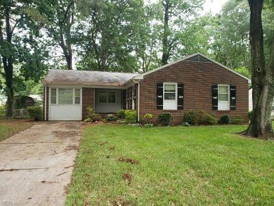 Newport News Residential New Listing: 413 Flint Dr