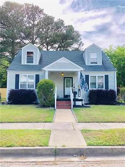 Norfolk Residential New Listing: 9115 Mace Ave