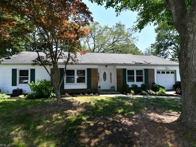 Virginia Beach Residential New Listing: 432 Hunt Ct