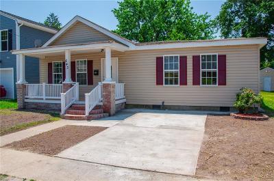Hampton Residential New Listing: 643 Pocahontas Pl