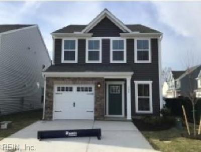 Virginia Beach Residential Under Contract: 705 Maple Leaf Ln