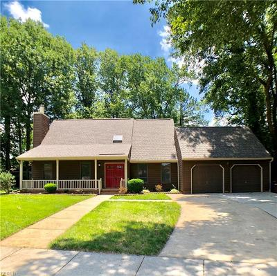 Chesapeake Residential New Listing: 2501 Knox Ct