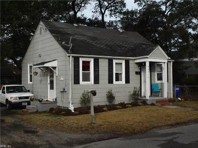 Norfolk Multi Family Home For Sale: 9631 17th Bay St