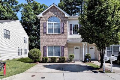 Newport News Residential New Listing: 447 Revolution Ln