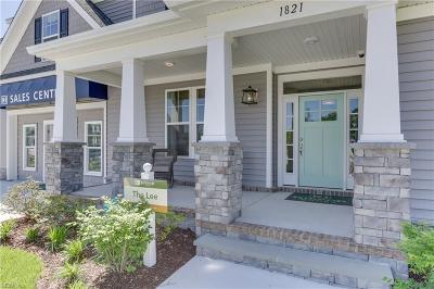 Chesapeake Residential For Sale: Mm Lee On Number Ten Ln