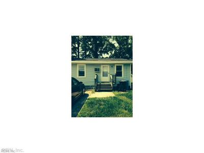 Chesapeake VA Multi Family Home For Sale: $155,000