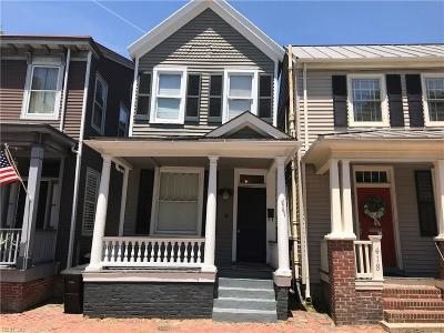 Portsmouth Multi Family Home For Sale: 418 .5 Glasgow St