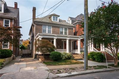 Norfolk Residential For Sale: 813 Graydon Ave