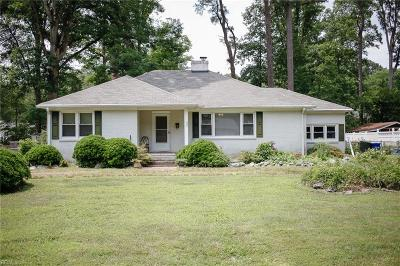 Newport News Residential Under Contract: 309 Central Parkway Pw