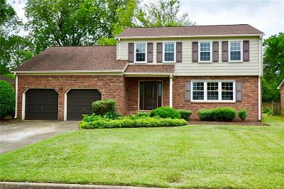 Newport News Residential For Sale: 484 Cheshire Ct