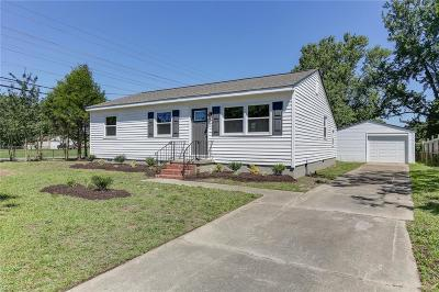 Newport News Residential For Sale: 1201 78th St