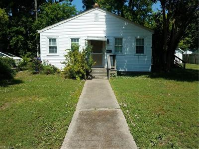 Newport News Multi Family Home For Sale: 111 Post St #A&B