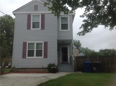Newport News Residential For Sale: 1146 26th St