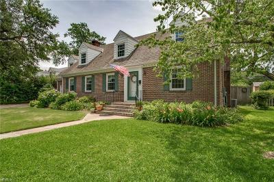 Norfolk Residential For Sale: 415 Brackenridge Ave