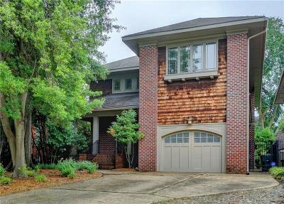 Norfolk Residential For Sale: 936 Westover Ave