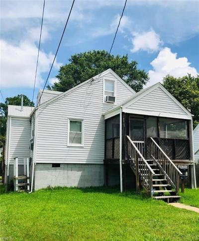 Portsmouth Multi Family Home For Sale: 4616 Columbia St