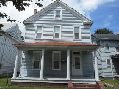 South Norfolk Multi Family Home New Listing: 1316 Chesapeake Ave #3