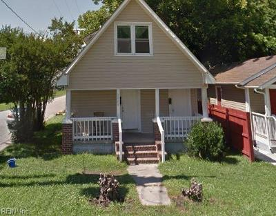 Norfolk Multi Family Home Under Contract: 3400 Lafayette Blvd