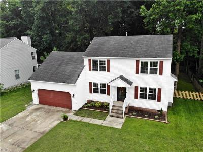 Chesapeake Residential New Listing: 321 Tarneywood Dr