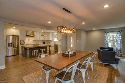 Kings Grant Residential Under Contract: 3312 Kings Neck Dr