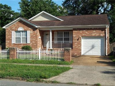 Newport News Residential For Sale: 1138 27th St