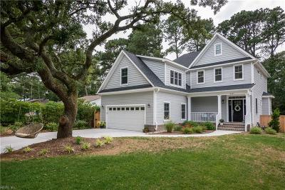 Virginia Beach Residential New Listing: 2131 Bayberry St