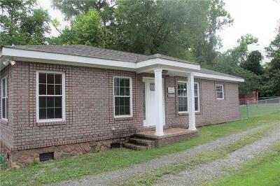 Suffolk Residential New Listing: 2222 Alabama Ave