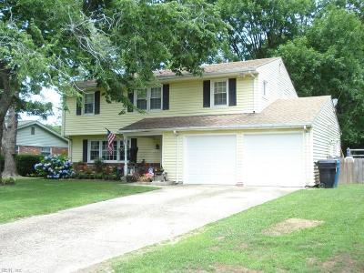 Virginia Beach Residential New Listing: 2112 Chicken Valley Rd