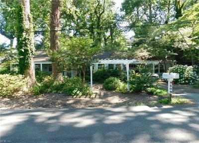 Virginia Beach Multi Family Home New Listing: 4809 Algonac Ave