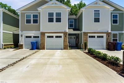 Chesapeake Residential New Listing: 529 Davidson Cir