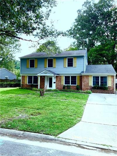 Virginia Beach Residential New Listing: 713 Northgate Ct