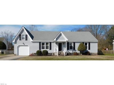 Chesapeake Residential New Listing: 820 Pleasant Way