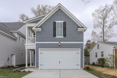 Virginia Beach Residential New Listing: 832 24th St