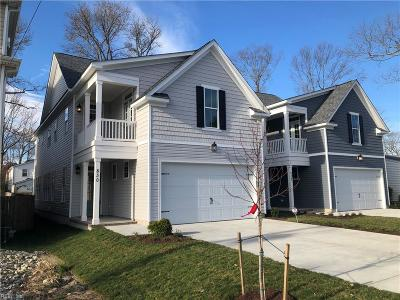 Virginia Beach Residential New Listing: 830 24th St