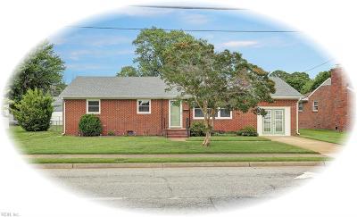 Hampton VA Residential New Listing: $160,000