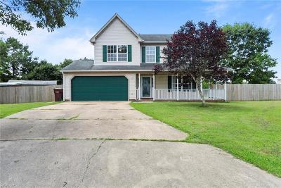 Chesapeake Residential New Listing: 1112 Carriage Ct