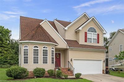 Chesapeake Residential New Listing: 3925 Quailshire Ln