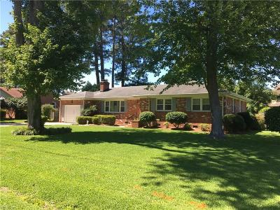 Virginia Beach Residential New Listing: 4608 Curtiss Dr