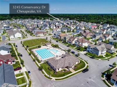 Chesapeake Residential New Listing: 3245 Conservancy Dr
