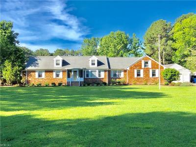 Virginia Beach Residential New Listing: 2300 S Stowe Rd S