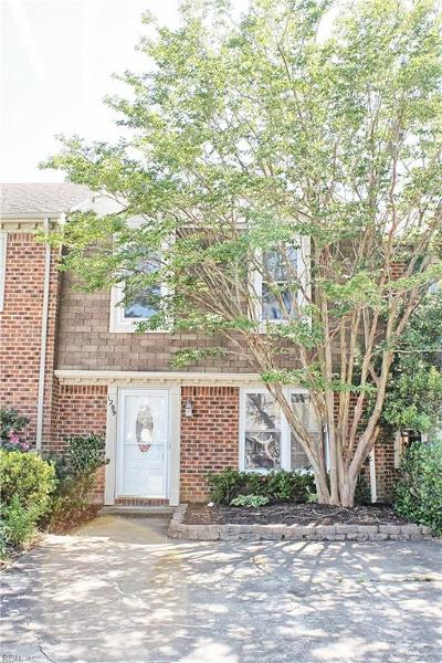 Chesapeake Residential New Listing: 1209 San Roman Ct