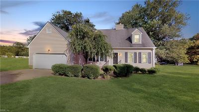 Williamsburg Residential New Listing: 109 Crescent Dr