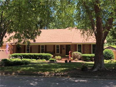Virginia Beach Residential New Listing: 4720 Eastwind Rd