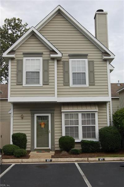 Newport News Residential New Listing: 117 Watson Dr