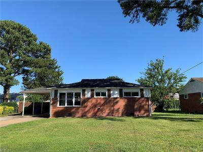 Norfolk Residential New Listing: 8320 Nathan Ave