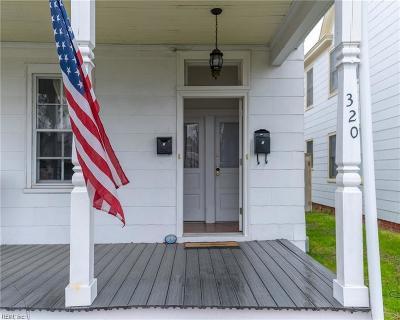 Portsmouth Multi Family Home Under Contract: 320 Chautauqua Ave