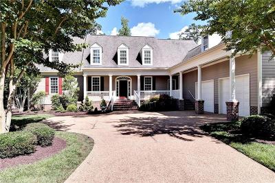 Williamsburg Residential For Sale: 2836 Bennetts Pond Rd